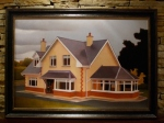 """""""Jasons house"""", 2008 – Oil on canvas,  35.4 x 23.6 inches (unavailable)"""